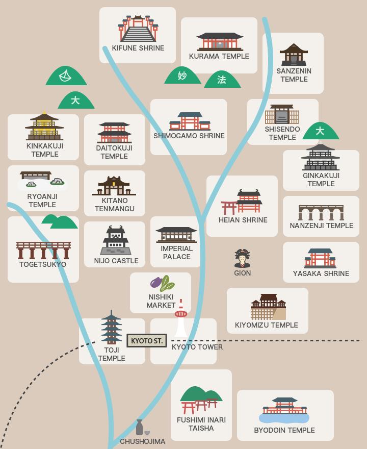 京都マップ