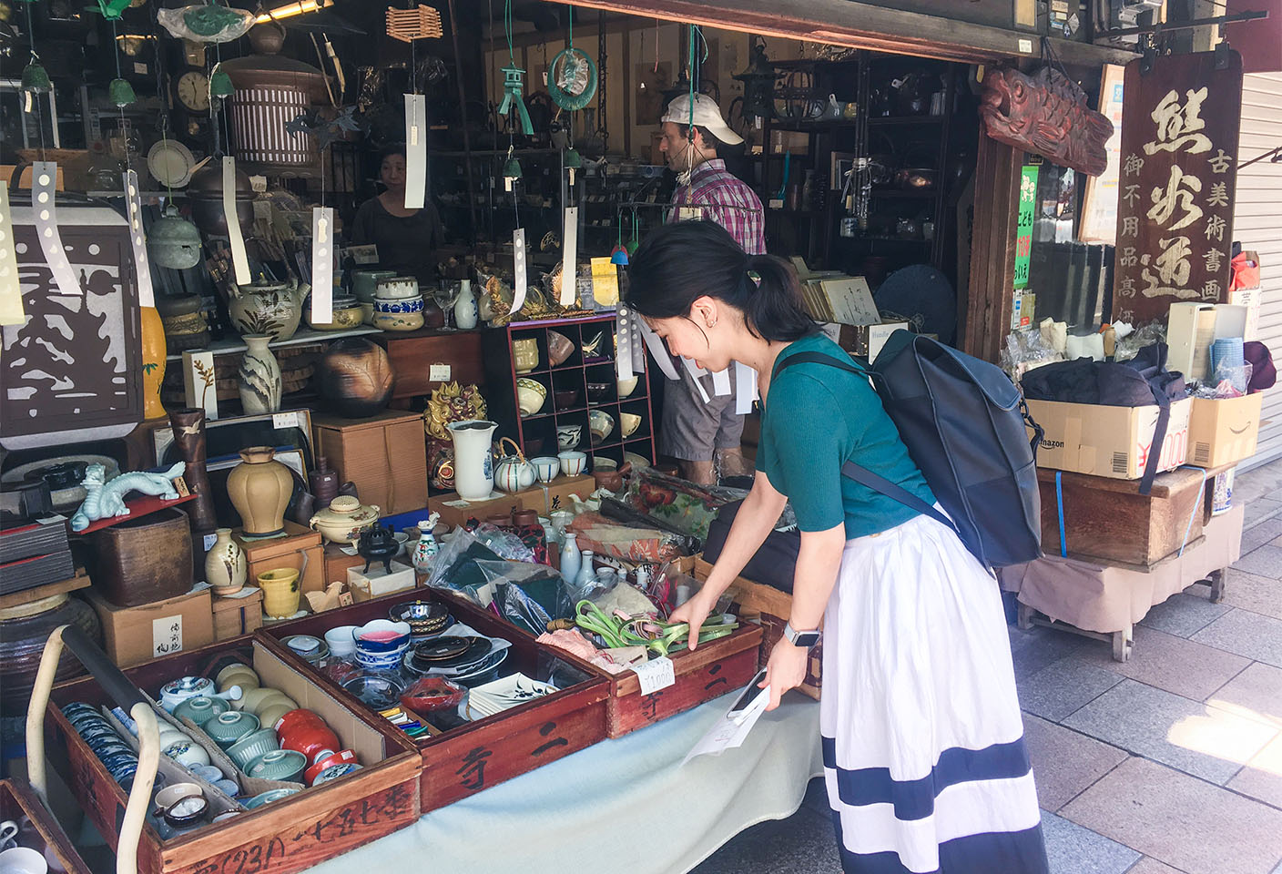 3points of Sharing Kyoto Tour